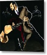 For The Love Of Tango Metal Print by Richard Young