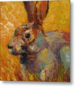 Forest Rabbit IIi Metal Print by Marion Rose