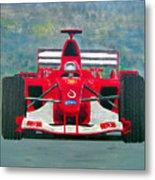 Formula 1 Metal Print by Ken Pursley