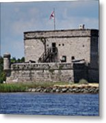 Fort Matanzas Metal Print by Skip Willits