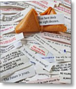 Fortune Cookie Sayings  Metal Print by Garry Gay
