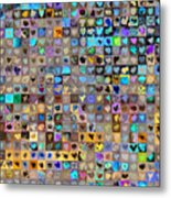Four Hundred And One Hearts Metal Print by Boy Sees Hearts