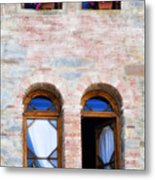 Four Windows Metal Print by Marilyn Hunt