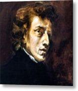 Frederic Chopin Metal Print by Granger