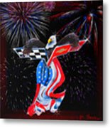 Freedom Metal Print by Patricia Stalter
