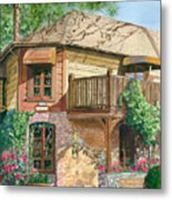 French Laundry Restaurant Metal Print by Gail Chandler