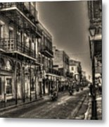 French Quarter Ride Metal Print by Greg and Chrystal Mimbs