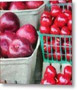 Fresh Market Fruit Metal Print by Jeff Kolker