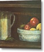 Fruit Bowl Metal Print by Charles Roy Smith