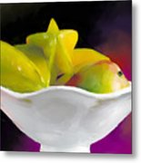 Fruit Bowl Metal Print by Michelle Wiarda