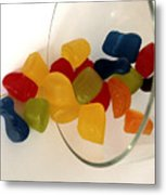 Fruit Gummi Candy Metal Print by Cheryl Young