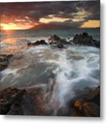 Full To The Brim Metal Print by Mike  Dawson