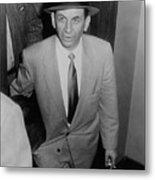 Gambling Boss Meyer Lansky 1902-1983 Metal Print by Everett