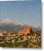 Garden Of The Gods Metal Print by Brian Harig