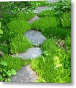 Garden Path Metal Print by Idaho Scenic Images Linda Lantzy