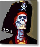 Gasparilla Pirate Fest Poster Metal Print by David Lee Thompson