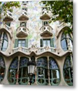 Gaudi Architecture Metal Print by Laura Kayon