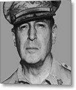 General Douglas Macarthur Metal Print by War Is Hell Store