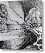 General Peckerwood In Purgatory Metal Print by Otto Rapp
