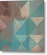 Geomix 03 - S123bc04t2a Metal Print by Variance Collections