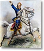 George Armstrong Custer Metal Print by Granger