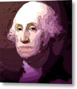 George Washington Metal Print by Tray Mead