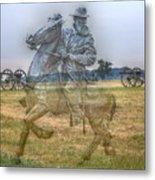 Ghost Of Gettysburg Metal Print by Randy Steele
