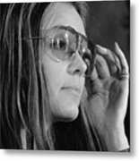 Gloria Steinem B. 1934, Feminist Metal Print by Everett