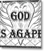 God Is Love - Agape Metal Print by Glenn McCarthy Art and Photography
