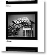 Going Going Gone Metal Print by Kenneth Krolikowski