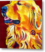 Golden - Scout Metal Print by Alicia VanNoy Call