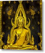 Golden Buddha  Metal Print by Anek Suwannaphoom