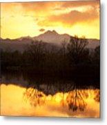 Golden Ponds Longmont Colorado Metal Print by James BO  Insogna
