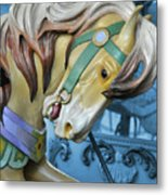 Golden Steed Metal Print by JAMART Photography