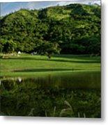 Golfito Desde La Laguna Metal Print by Bibi Romer