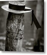 Gondolier Hat Metal Print by Dave Bowman