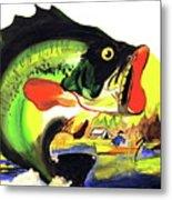 Gone Fishing Metal Print by Linda Simon