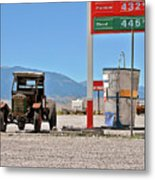 Good Bye Death Valley - The End Of The Desert Metal Print by Christine Till