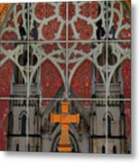 Gothic Church 2 Metal Print by Scott Hovind