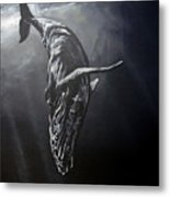 Graceful Descent Metal Print by Marco Antonio Aguilar