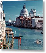 Grand Canal Of Venice Metal Print by Michelle O'Kane