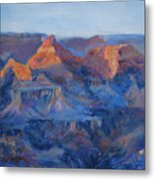 Grand Canyon Study Metal Print by Billie Colson