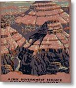 Grand Canyon Metal Print by Unknown
