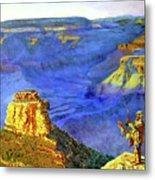 Grand Canyon V Metal Print by Stan Hamilton