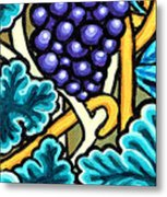 Grapes Metal Print by Genevieve Esson