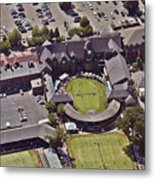 Grass Tennis Hall Of Fame 194 Bellevue Ave Newport Ri 02840 3586 Metal Print by Duncan Pearson