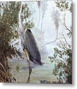 Great Blue Heron Metal Print by Kevin Brant