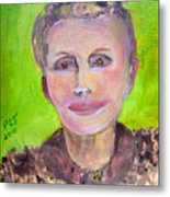 Great Grandmother Adora Metal Print by Patricia Taylor