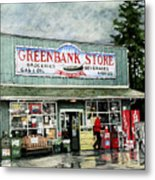 Greenbank Store Metal Print by Perry Woodfin