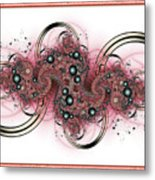 Hadron Collider Metal Print by David April